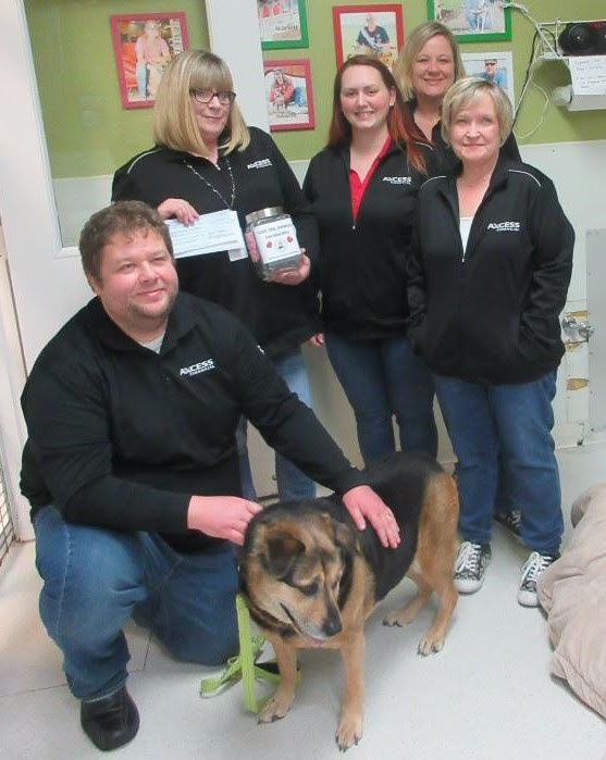 Axcess Financial Donates To Our Dog Zoe