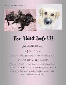 Tee Shirt Sale Flyer 2021